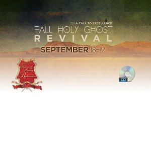 2013 Fall Holy Ghost Revival- CD